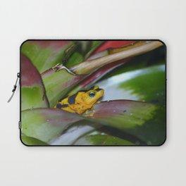 Panamanian Golden Frog Laptop Sleeve