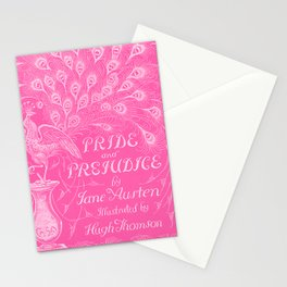 Pride and Prejudice - Hot Pink Stationery Cards