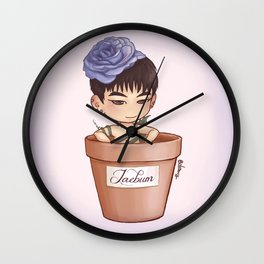 Rose JB (GOT7) - digital art Wall Clock