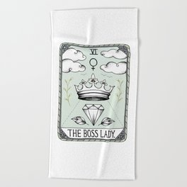 The Boss Lady Beach Towel