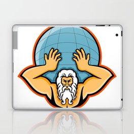 Atlas Holding Up World Mascot Laptop & iPad Skin