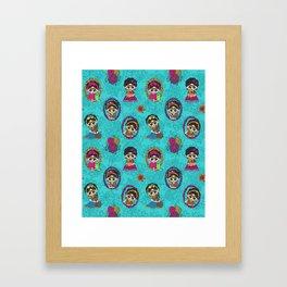 Little Animal Friends Framed Art Print