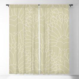 Minimalist Echidna Blackout Curtain