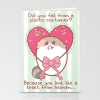 fat Stationery Cards featuring Fat Fat Valentine by Fat Fat