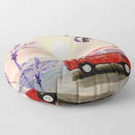 Beach Van Floor Pillow