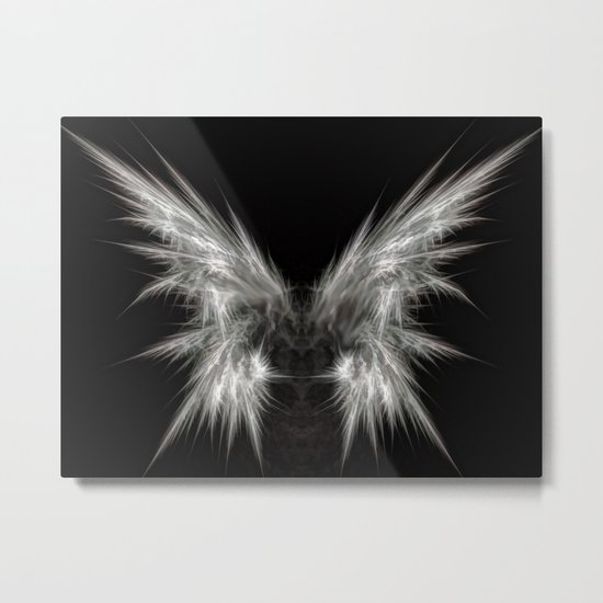 Ghost Moth Metal Print