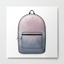 Heard You Like Backpacks Metal Print