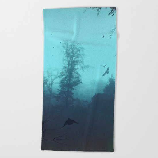 Moody Blues Beach Towel