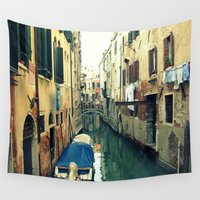 venice Wall Tapestries featuring Venice by Mr and Mrs Quirynen