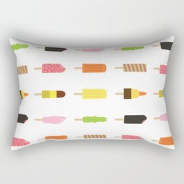 90s Ice Cream Collection - Which one was your favourite? Rectangular Pillow