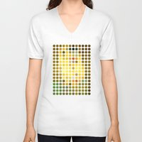 klimt V-neck T-shirts featuring Gustav Klimt Remixed (2009) by Gary Andrew Clarke
