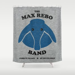 The Max Rebo Band Concert Shower Curtain