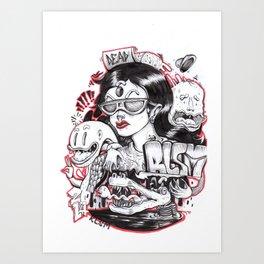 RLSM Art Print