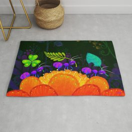 Delivery Ants Rug
