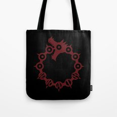 The Dragon's Sin of Wrath Tote Bag