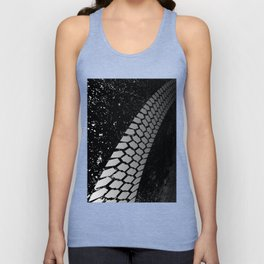 Grunge Skid Mark Unisex Tank Top