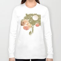 lanterns Long Sleeve T-shirts featuring Lanterns Rosy by Heidi Fairwood