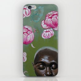 Here Comes a Thought iPhone Skin