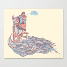 Canute. Canvas Print