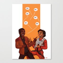 Star Bros Canvas Print