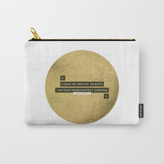Passionately Curious Carry-All Pouch