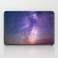 milky way iPad Cases featuring Milky Way by Lotus Effects