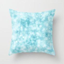 Winter Vibes Throw Pillow