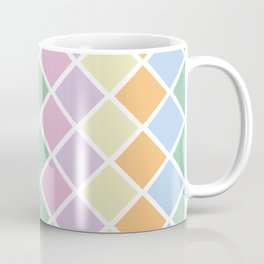 Pastel Diamonds Coffee Mug