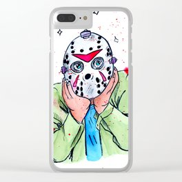 Just thinkin' of stuff! Clear iPhone Case