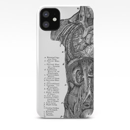 Body Diagram No. 4 iPhone Case