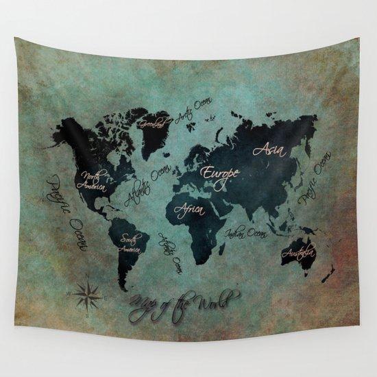 World Map text #world #map by jbjart