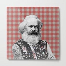 Punk Marx Metal Print