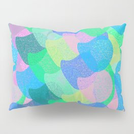 Colorful Scales Pillow Sham