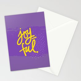 The Fuel of Joy Stationery Cards