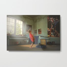 Larger than life! Metal Print