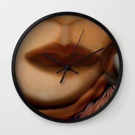 pessimist Wall Clock