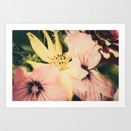 Flower bouquet... Art Print
