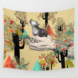 Found You There  Wall Tapestry