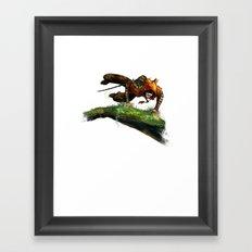Berenn Jumping Framed Art Print