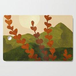 Oahu Morning - Impressionist Landscape Painting Cutting Board