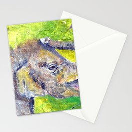 Fuzzy Baby Stationery Cards
