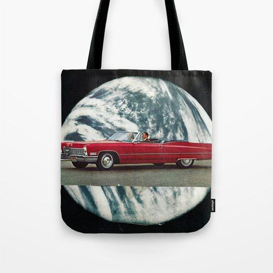 red mirror... Tote Bag