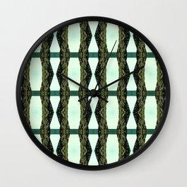 pillars Wall Clock