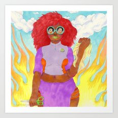 Snatched Art Print