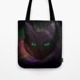 Watching Cat Tote Bag
