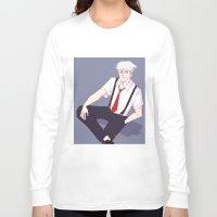 kakashi Long Sleeve T-shirts featuring Kakashi by Ferkashi