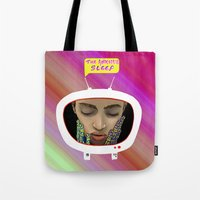 The Anxious Sleep Tote Bag
