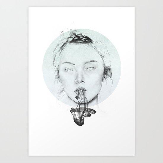 Prepare to evacuate soul. Art Print