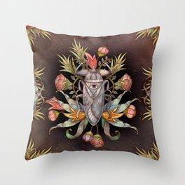 Jardin secret Throw Pillow