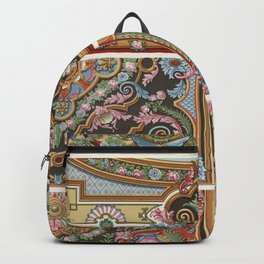 Vintage Lithography - XVIII century Backpack